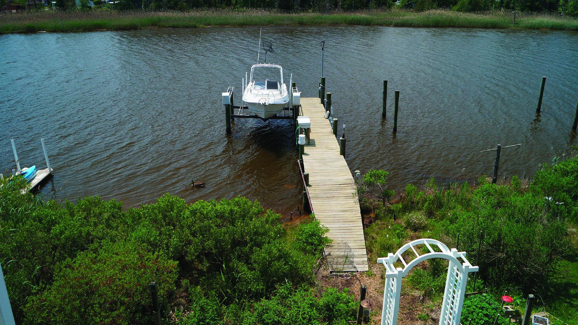 <h2>Waterfront Development Act Permitting</h2><p>The installation or alteration of docks and piers over tidally influenced waters will require a Waterfront Development Permit. </p><a href='https://www.air-land-sea.net/professional-services/waterfront-development-act-permitting/' class='btn'>Read more</a>